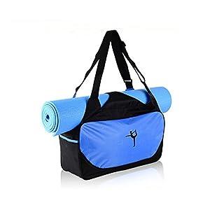 Qind Yogamatte Sport Tasche Tragbar Fitness Sport Umhängetasche, Outdoor Wasserdicht Pilates Matte Tasche