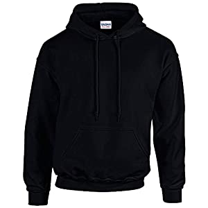 GILDAN - Unisex Kapuzen-Sweatshirt 'Heavy Blend' 4XL,Black