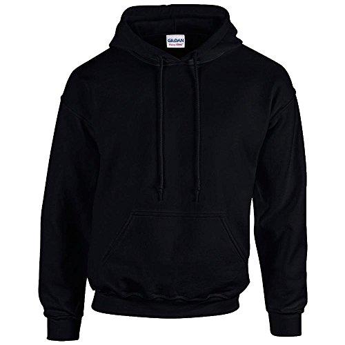 Schwarzer Kapuzenpullover - Erwachsenen Kapuzen-Sweatshirt