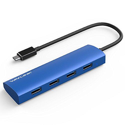 WAVLINK 4 puertos USB 3.0 TIPO-C a USB 3.0 Hub Alta...