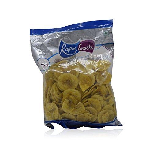 Rajam Snacks - Banana Chips, 180g Pack