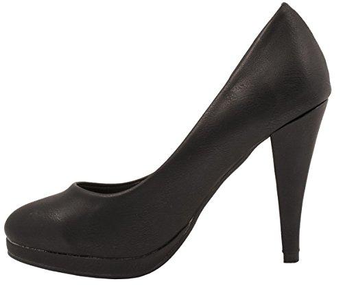 Elara , chaussures compensées femme Schwarz