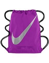 Nike FB Gymsack 3.0 - Bolsa unisex, color morado / plata, talla única