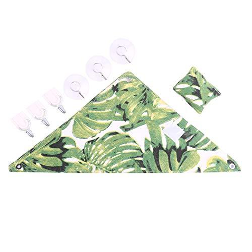 YUYUSO Hängematte für Reptilien, Hängematte, Hängematte, Leiter mit Klebehaken und Saugnapf, für Bartagden, Leoparden, Gecko, Ratte, Eidechse, S -