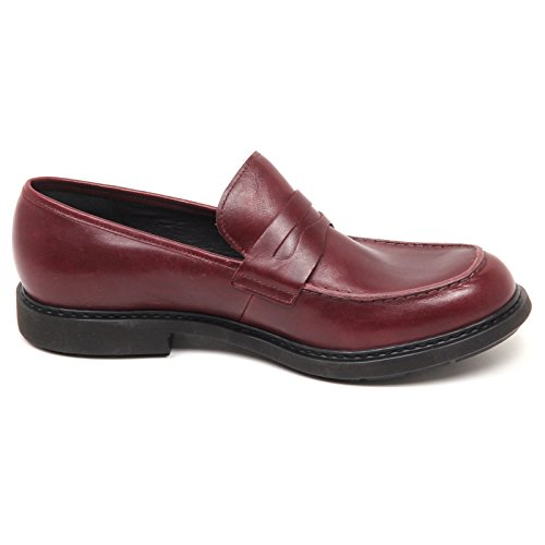 Camper D9372 (Without Box) Mocassino Uomo Bordeaux Scarpe Loafer Shoe Man Bordeaux