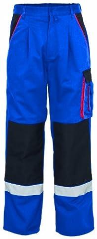 "Arbeitshose ""Premium"" 441-0-1800-50 Hose, 65 % Polyester, 35 % Baumwolle, Größe 50, Farbe: kornblau"