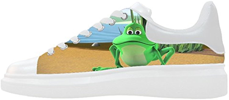 Custom Rana diverdeente Wouomo Canvas scarpe scarpe scarpe Le scarpe le scarpe le scarpe. | In Linea Outlet Store  | Uomo/Donne Scarpa  29fae0