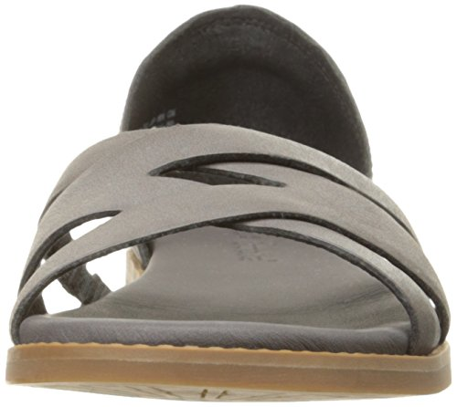 Timberland Womens Caswell Closed-Back Sandal Dark Grey Antique
