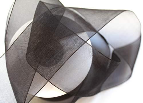 CaPiSo® Organza 50 mm Ancho 5 cm Organzaband Lazos