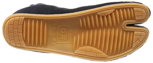 Festival Matsuri Jikatabi Schuhe gepolstert mit Naht (Nuitsuke) 5 Clips - Direkt aus Japan (marugo) Navy