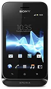 Sony Xperia Tipo Smartphone Google Android 4.0 (ICS) aGPS/GSM GPRS/EDGE Wi-Fi Mémoire interne 2,9 Go Noir