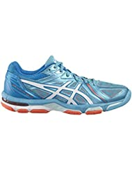 Shoes GEL-VOLLEY ELITE 3 white/silver/hot coral 2016 Asics