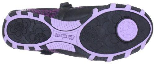 Skechers PrimaPrancy 82037L Mädchen Ballerinas Schwarz (Bklv)