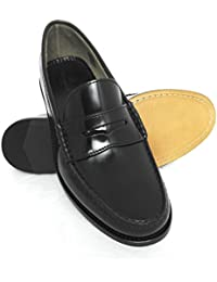 Zerimar Mocasines Clásicos Piel Natural Premium | Zapatos Hombre Piel | Zapatos Mocasines Hombre | Mocasines