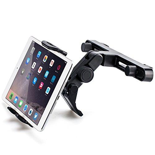 Kopfstütze Halterung, iKross Universal Kfz Auto Tablet-Halterung an der Kopfstütze für 7 - 10.2 Zoll Tablet - Schwarz