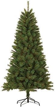 Black Box Trees 379096-01 Albero di Natale artificiale Luna Altezza 185 cm diametro 99 cm 488 rami, PVC rigido