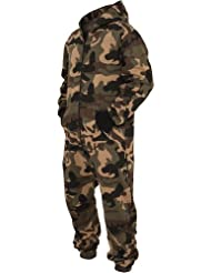 Urban Classics Herren Camo Jumpsuit TB581 Regular Fit