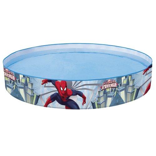 Preisvergleich Produktbild Spiderman Steilwand Kinder Planschbecken Quick Pool Schwimmbecken Swimmingpool