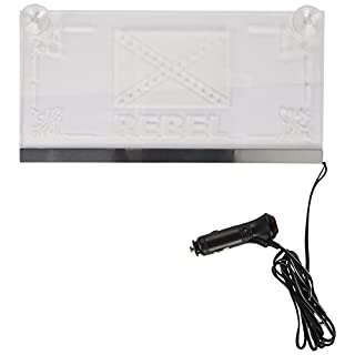 All Ride 871125246872Plaque LED Rebel