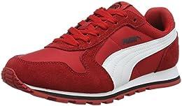 scarpe puma rosse bambino