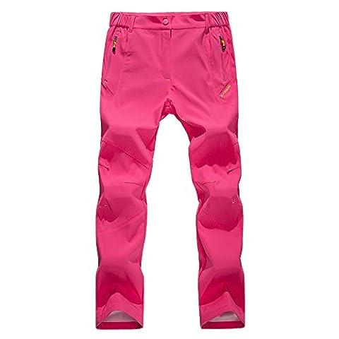 walk-leader Veste coupe-vent de camping/randonnée VTT Décontracté pour femme pantalon pour femme - rose - X-Large