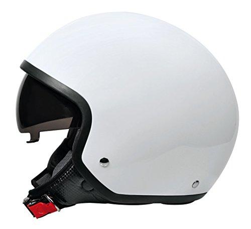 LAMPA - Brio, casco demi-jet - Bianco - S