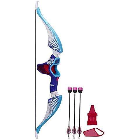 NERF - Rebelle, arco de juguete con flechas