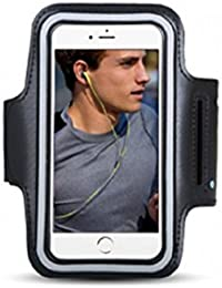 Sports Black Arm Holder Band Running Jogging Case For iPhone 6 6S 7