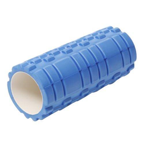 Yogarolle aus Schaumstoff mit Noppen, geeignet für Massageübungen, in vielen Farben erhältlich Blau blau 33x14 cm