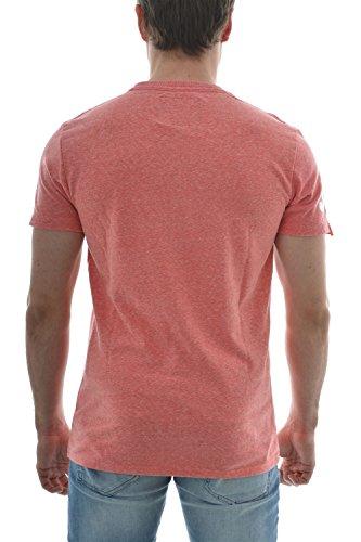 SUPERDRY Herren VINTAGE LOGO TEE T-Shirt Rot