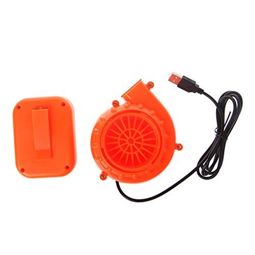 Bogji - Elektrisches Mini-Gebläse-Luftgebläse Für Aufblasbare Spielzeug-Kostüm-Puppe Batteriebetriebenes USB