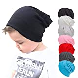 TITAP Hip-Hop Boy Girl Baby Beanie Hat Infant Baby Toddler Cute Knit Cotton Cap Nursery Beanie Solid Knit Cotton Cap Nursery Beanie
