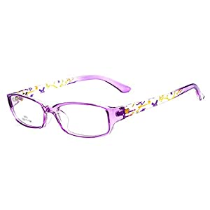 Juleya Kinder Gläser Rahmen – Kinder Brillen Clear Lens Retro Reading Eyewear für Mädchen Jungen 112205