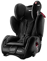 RECARO Young Sport Autositz Gruppe 1/2/3 (9-36 kg), color black