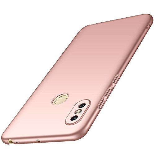 anccer Xiaomi Mi Max 3 Hülle, [Serie Matte] Elastische Schockabsorption und Ultra Thin Design für Xiaomi Mi Max 3 (Glattes Rosen-Gold)