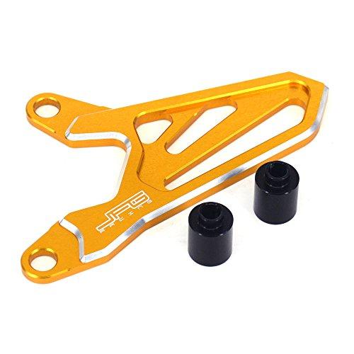 Preisvergleich Produktbild Motorrad CNC Vorderrad Kettenschutz Kettenschutz für Suzuki RMZ250 2004-2006 Dirt Bike Motorrad