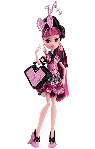 Monster High - CDC35 - Poupée Mannequin - Draculaura - Echange Monstrueux