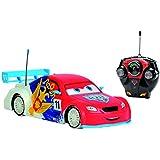 Dickie Spielzeug 203089591 - Disney Cars Ice Racing RC Petrov, 1:24