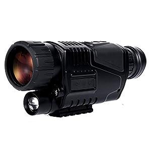 MIAO Caméra vidéo haute définition infrarouge Jumelles vidéo de vision nocturne Imagerie non thermique