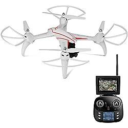 Goolsky WLtoys Q696-A 2.4G 6 Axes Gyro 5.8G FPV 1080P Caméra HD RC Quadcopter Baromètre Set Taille RTF Drone