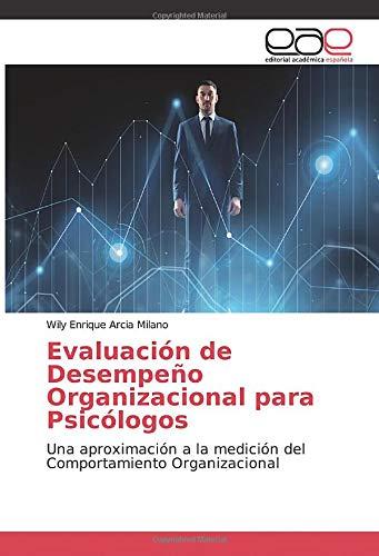 libro Evaluación de Desempeño Organizacional