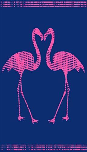 jilda-tex Strandtuch Flamingos 90x180cm