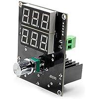 BIlinli Pantalla Digital LED Regulador de Voltaje Módulo de Fuente de alimentación 5-36V A