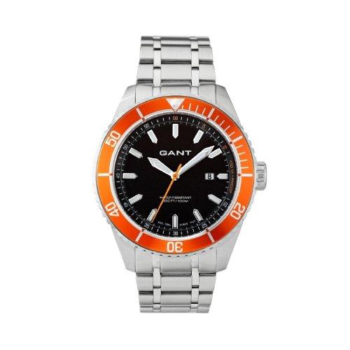 Gant W70392 - Reloj para hombres, correa de acero inoxidable color plateado