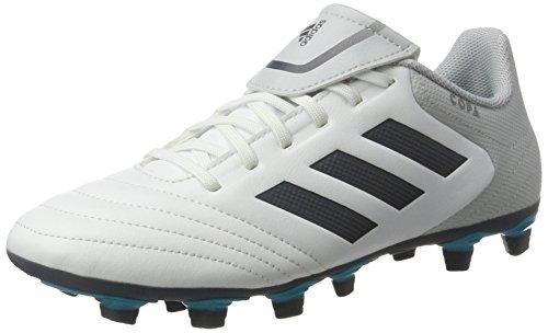 adidas Copa 17.4 Fxg, Zapatillas de Fútbol para Hombre, Multicolor (Ftwr White/Onix/Clear Grey), 43 1/3 EU