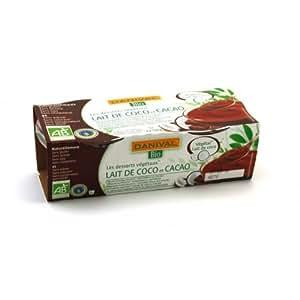 DANIVAL - BIO COCO cacao chocolat dessert + 2x110 GR