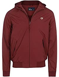 Fred Perry Men's Rosewood Hooded Brentham Jacket