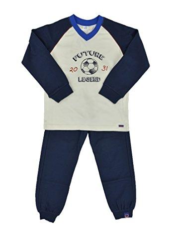 Kanz Jungen Lang Zweiteiliger Schlafanzug, Mehrfarbig (Snow White 1050), (Herstellergröße: 98)
