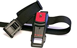 B-Grip Camera Belt Holder (Black and Red)