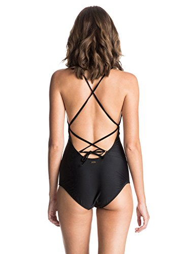 Roxy Damen Surf Essentials Swimsuit True Black